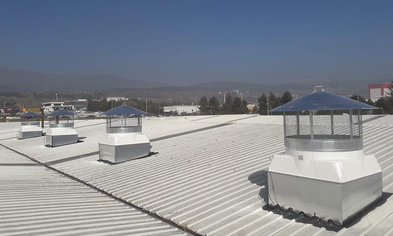 Fabrika Havalandırma Sistemleri Ankara